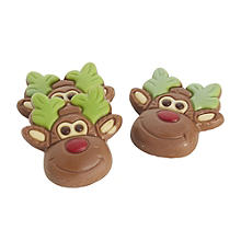 Reindeer Chocolate Cake Toppers