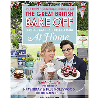 Great British Bake Off At Home Book