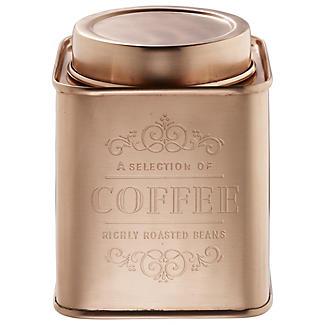 Verkupferte Kaffeedose