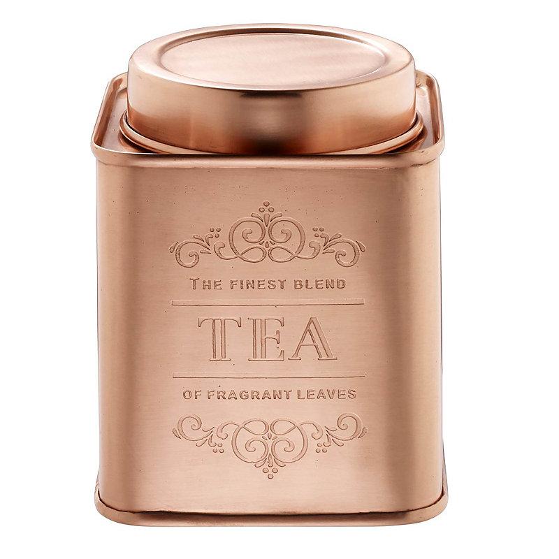 Copper Tea Canister Lakeland