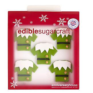 Creative Party Elf Shirt Cake Topper alt image 2