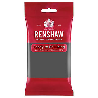 Renshaw Ready to Roll Coloured Icing - 250g Grey