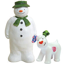 The Snowman and The Snowdog Cake Toppers – 2 Piece Set