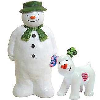 The Snowman and The Snowdog Cake Toppers – 2 Piece Set alt image 1