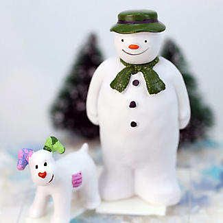 The Snowman and The Snowdog Cake Toppers – 2 Piece Set alt image 2