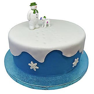 The Snowman and The Snowdog Cake Toppers – 2 Piece Set alt image 3