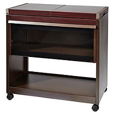 Connoisseur Hostess Trolley Mahogany-Effect
