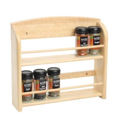 Tg 12 Jar Wall Mounted Spice Rack Lakeland