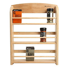 T&G 18-Jar Wall-Mounted Spice Rack