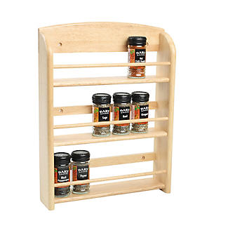 T&G 18-Jar Wall-Mounted Spice Rack alt image 2