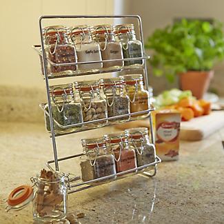 Hahn Pisa 12-Kilner Jar Spice Rack alt image 2