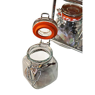 Hahn Pisa 12-Kilner Jar Spice Rack alt image 3