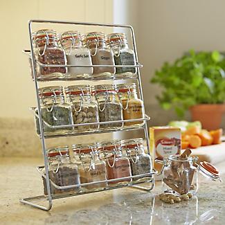 Hahn Pisa 12-Kilner Jar Spice Rack alt image 4