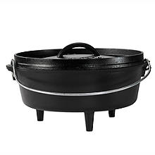 Lodge Cast Iron Camp Dutch Oven 27cm