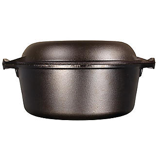 Lodge Cast Iron Double Dutch Oven 26cm alt image 3