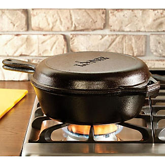 Lodge Cast Iron Combo Cooker 27cm alt image 5
