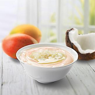 EasiYo Indulgence Greek Style Mango with Coconut Yogurt Mix x 4 alt image 2