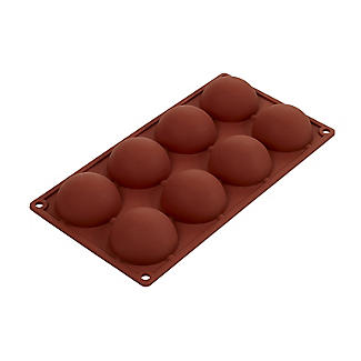 Chocolate Teacake Silicone Mould for 8 Teacakes alt image 4