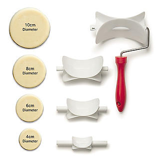 Round Rolling Pastry Cutter Set – 4 Sizes