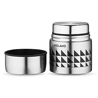 Lakeland Stainless Steel Thermal Vacuum Food Flask 500ml alt image 2