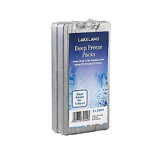 Lakeland Deep Freeze Ice Packs 2 x 200ml