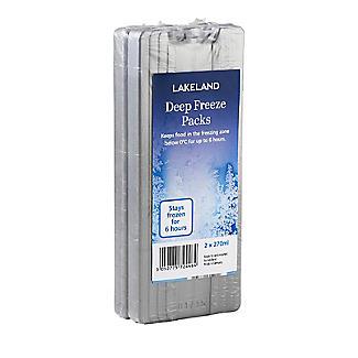 Lakeland Deep Freeze Ice Packs 2 x 270ml