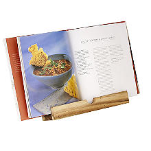 Folding Wooden Cookbook Stand - Acacia Wood