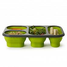 Faltbare Lunchbox für gesunde Portionen