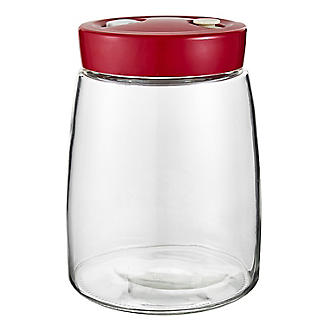 Lakeland Fermentation Jar with Air-Release Valve 1.4L alt image 1