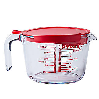Pyrex 1L Lidded Measuring Jug
