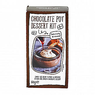 Lakeland Just Add Cream Chocolate Pot Dessert Mix 60g