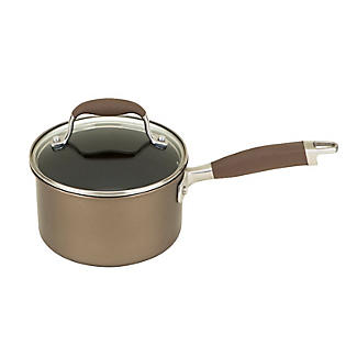 Anolon Advanced 16cm Glass-Lidded Saucepan Umber alt image 9