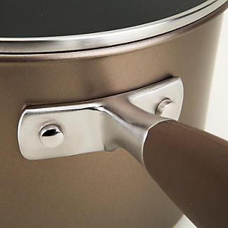 Anolon Advanced 18cm Glass-Lidded Saucepan Umber alt image 4