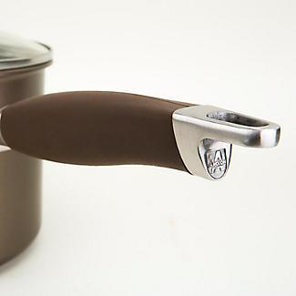 Anolon Advanced 3-Piece Glass-Lidded Saucepan Set Umber alt image 7