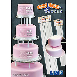 Easy Cut 30cm Cake Dowels 4 Pack alt image 3