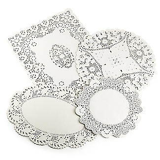 Lakeland 80 Assorted Paper Doilies - 4 designs alt image 4