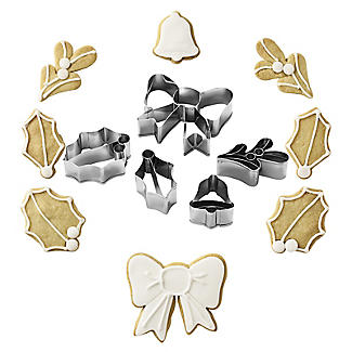 Edible Christmas Wreath Cookie Cutter Set alt image 1