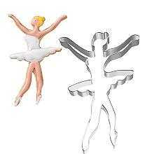 Ballerina Cookie Cutter 12.5cm