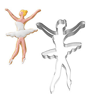 Ballerina Cookie Cutter 12.5cm