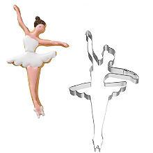 Dancing Ballerina Cookie Cutter 11cm