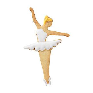 Dancing Ballerina Cookie Cutter 11cm alt image 2