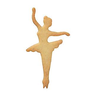 Dancing Ballerina Cookie Cutter 11cm alt image 4