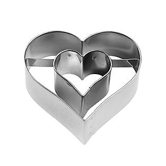 Heart with Heart inside Cookie Cutter alt image 2