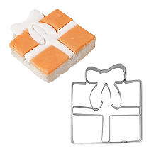 Christmas Gift Cookie Cutter 5.5cm