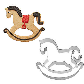 Rocking Horse Cookie Cutter 7cm