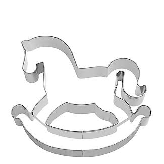 Rocking Horse Cookie Cutter 7cm alt image 3