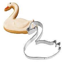 Swan Cookie Cutter 6.5cm