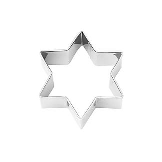 Christmas Star Cookie Cutter 6cm alt image 2