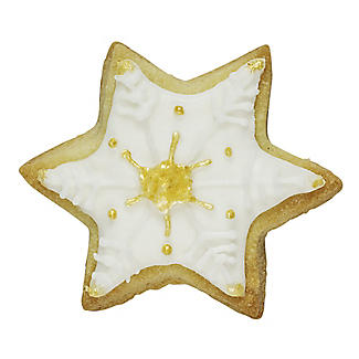 Christmas Star Cookie Cutter 6cm alt image 3