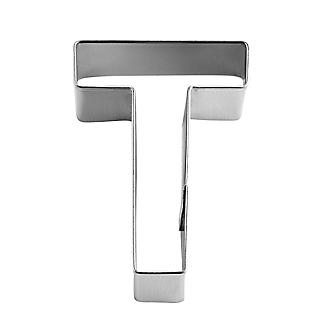 Letter T Alphabet Stainless Steel Cookie Cutter alt image 2
